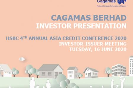 HSBC 4ᵗʰ Annual Asia Credit Conference – Investor/Issuer Meetings